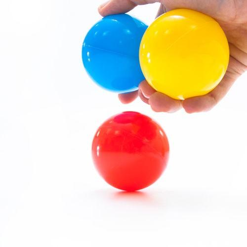 100ks Loptičky do bazéna 5cm farebné lopty megamix.sk