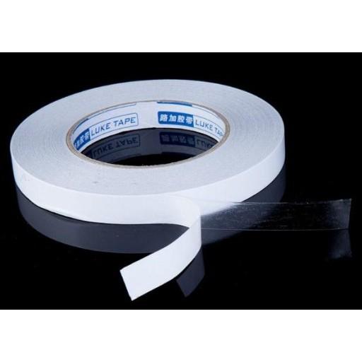 Obojstranná priehľadná lepiaca páska 50m x 9mm 1ks megamix.sk