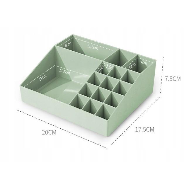 akrylový organizér na kozmetiku 20x18x8cm megamix.sk