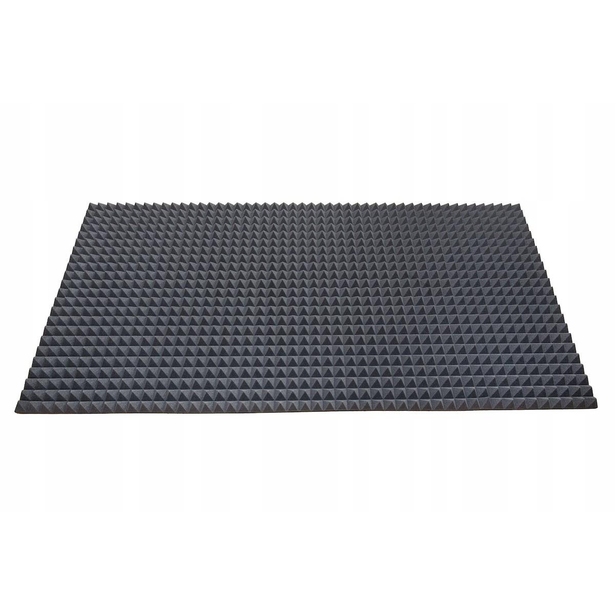 akustická polyuretánová pena 200x100cm 50mm pyramída na hluk tlak zvuk megamix.sk