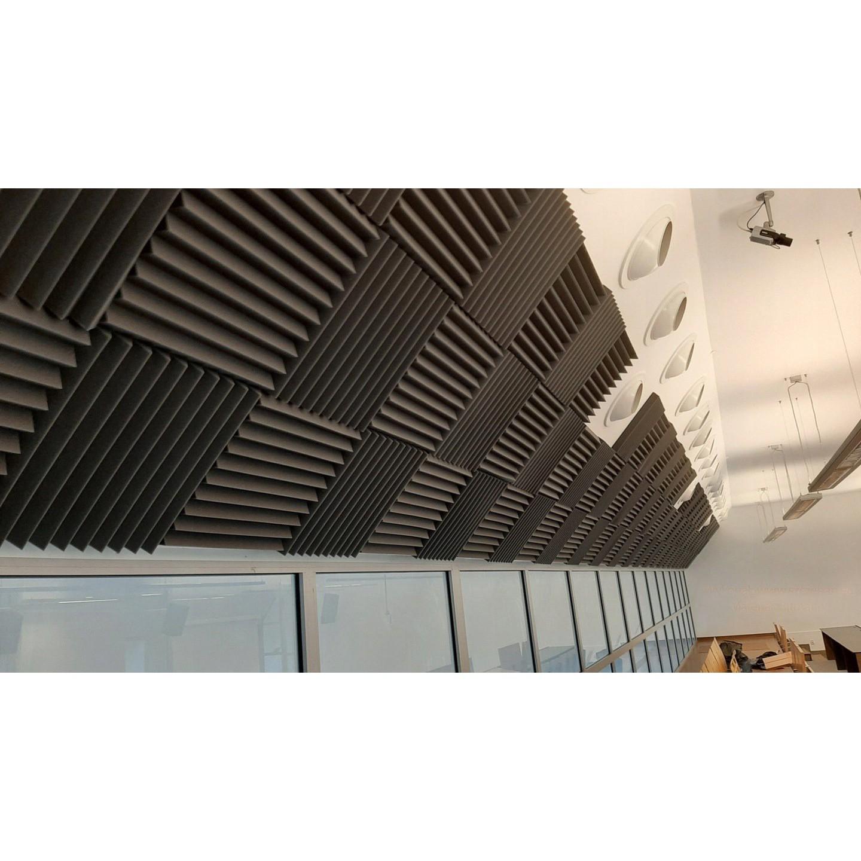 Akustický panel 50x50x5cm modrý samozhášavý nehorľavý megamix
