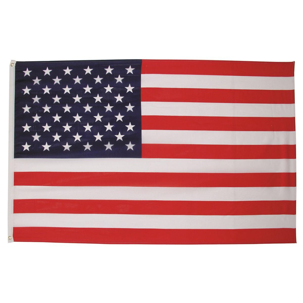 americká vlajka USA 150x90cm polyester s okom megamix.sk