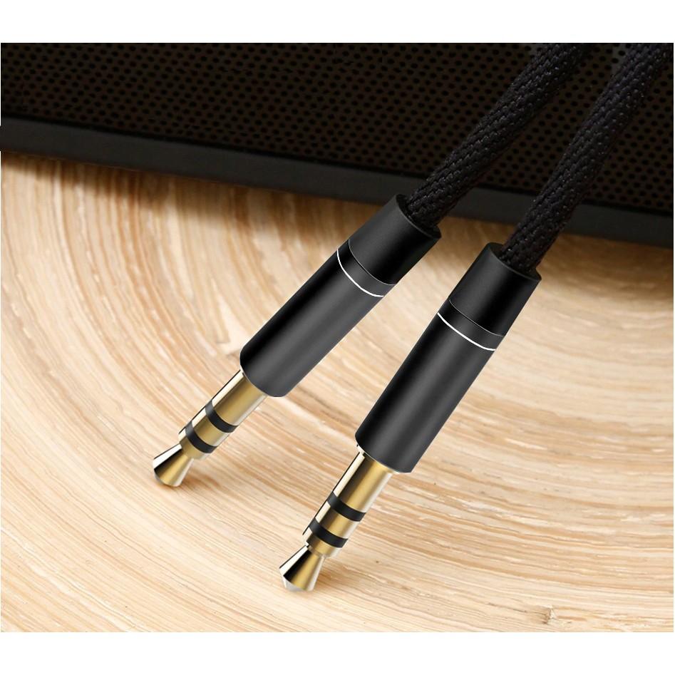 Audio kábel 3,5mm nylon AUX mini jack 95cm megamix.sk