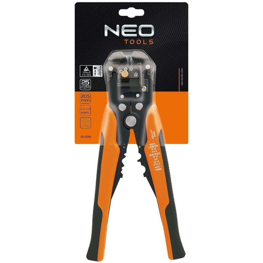 automatický stahovač izolácie z káblov NEO 01-500 megamix.sk