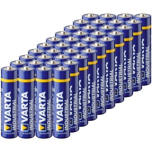 Baterky AAA Varta Indrustrial LR3 R3 40ks megamix.sk