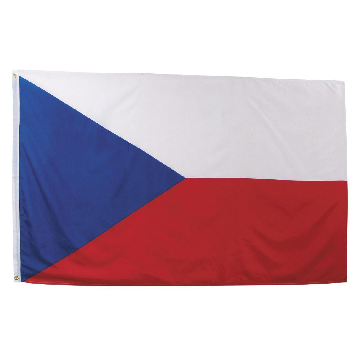 Česká vlajka 150x90cm obojstranná polyester megamix.sk