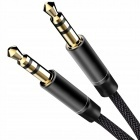 Audio kábel 3,5mm nylon AUX mini jack 95cm