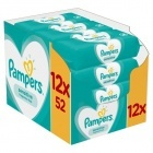 Detské čistiace utierky Pampers Sensitive 12 x 52ks