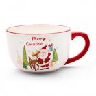Keramický hrnček s vianočným motívom Jumbo 550 ml
