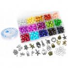 Korálky na navliekanie výrobu náramkov náhrdelníkov mramor