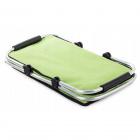 Piknikový kôš termálna taška 48x28cm zelená