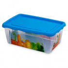 Plastový obdĺžnikový box s vekom Hega Altamira Micro 1 l