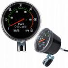 Tachometer na bicykel bezbatériový retro vodotesný
