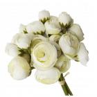 Umelé kvety 30cm 36ks biele