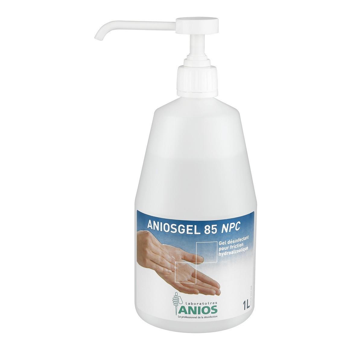 dezinfekcia na ruky Aniosgel 85 NPC 1L + pumpa megamix.sk