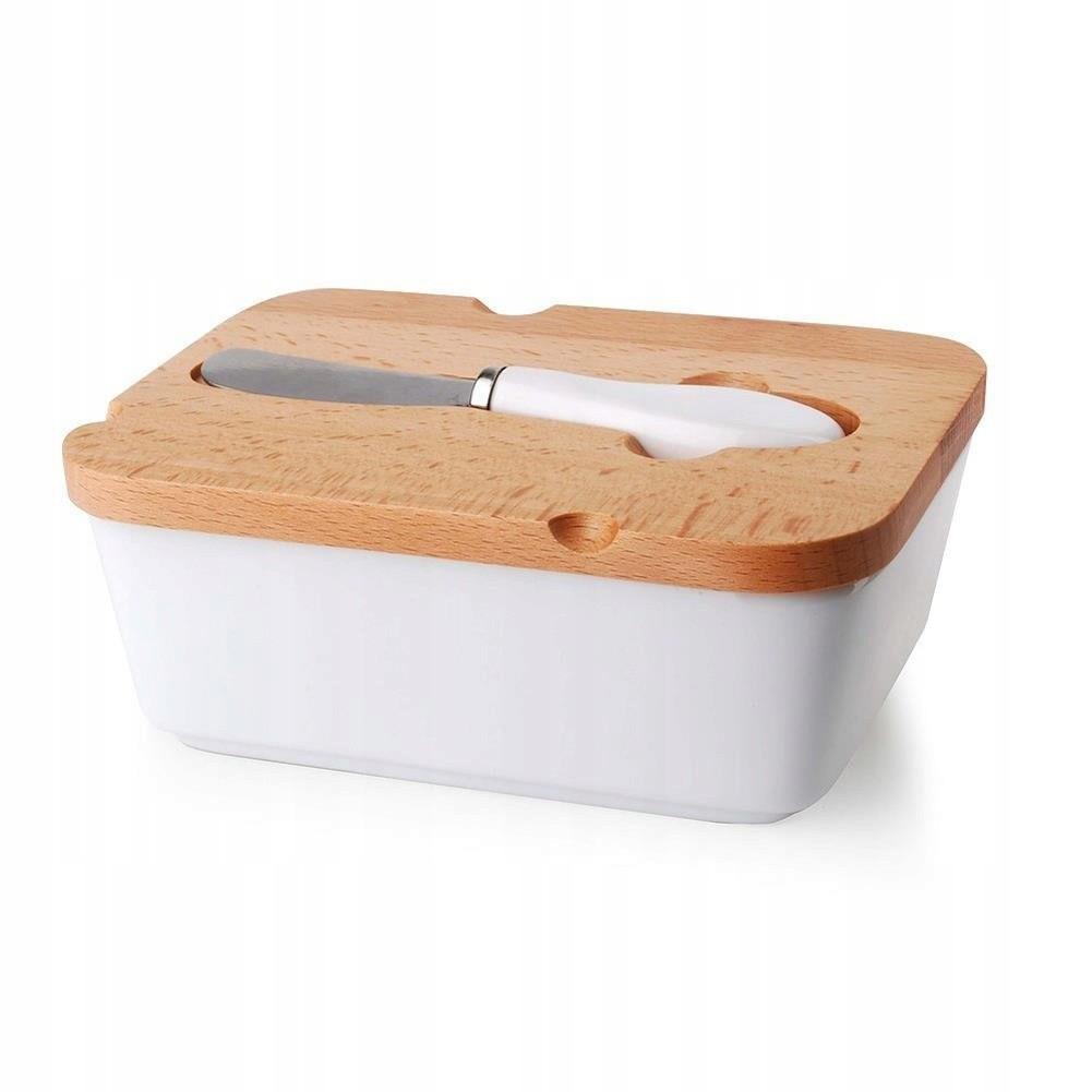 dóza na maslo keramická nádoba biela megamix.sk