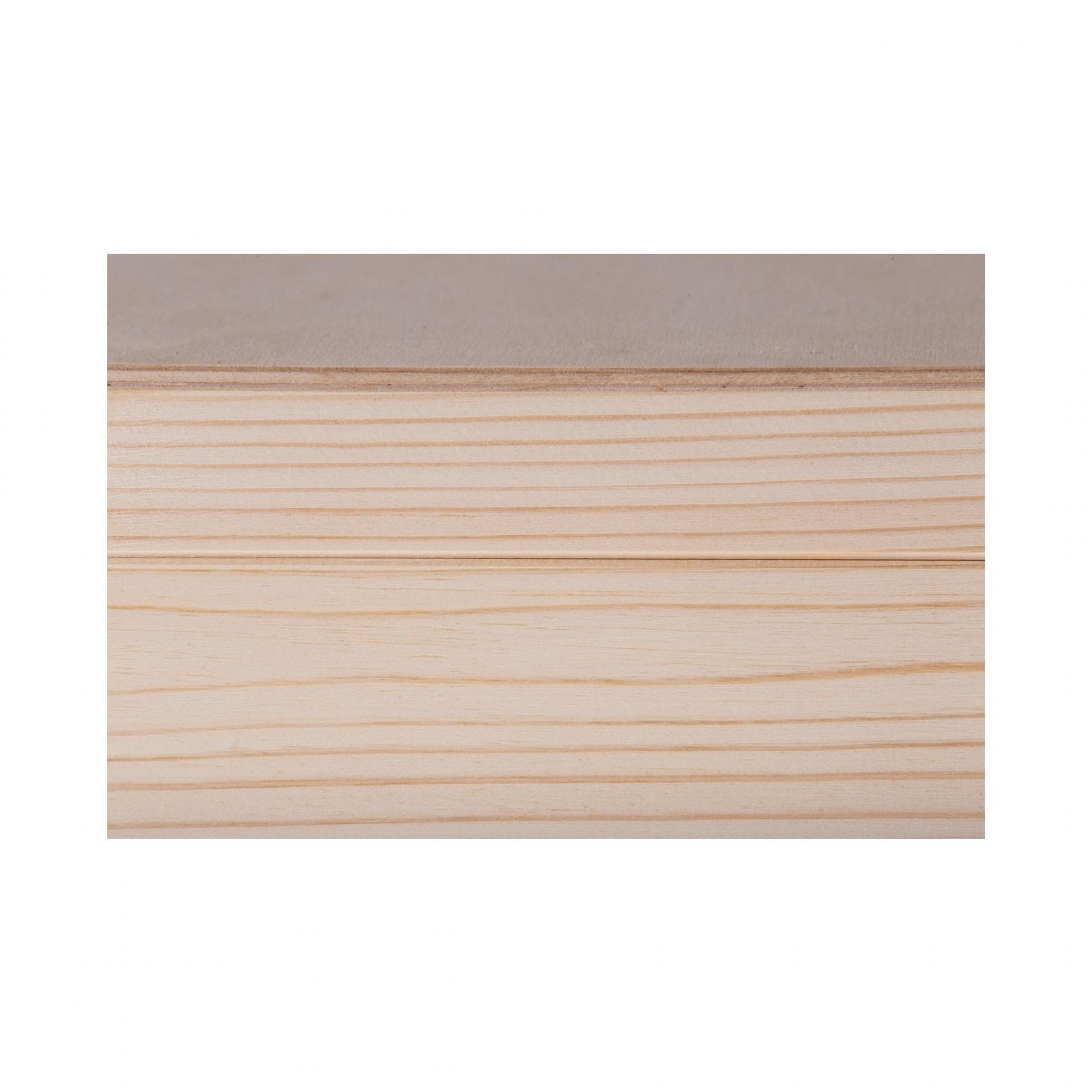 Drevená krabička s 8 priehradkami 16x28x8cm borovica megamix.sk