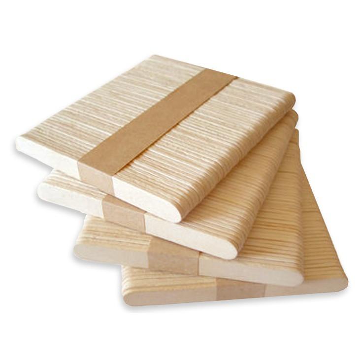 drevené paličky na nanuky zmrzlinu 200ks megamix.sk