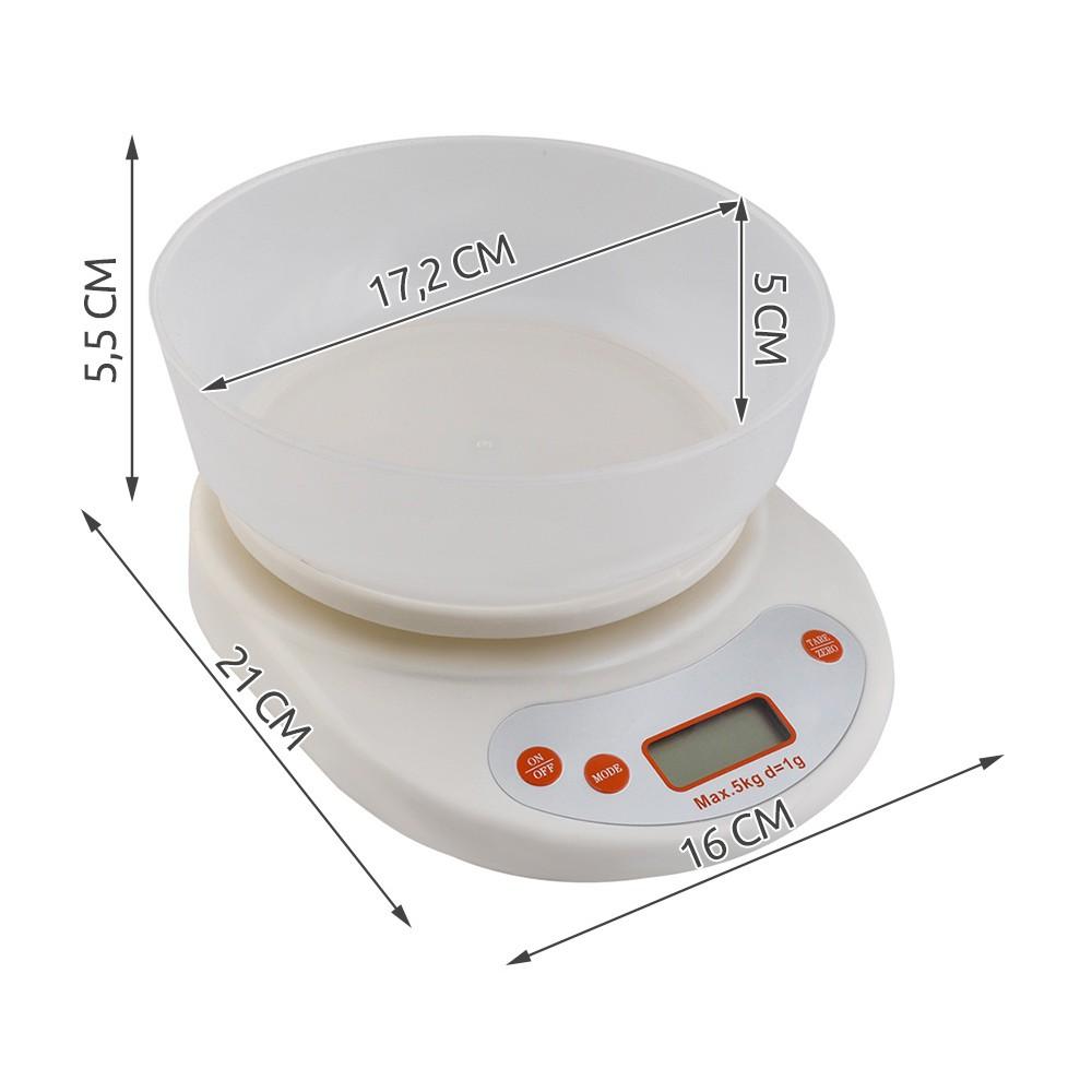 elektronická váha s miskou do 5kg megamix.sk