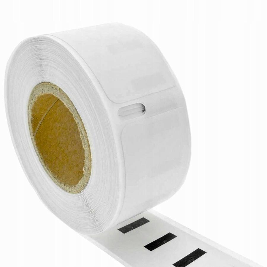 etikety nálepky štítky biele 25x25 mm 750ks pre Dymo megamix.sk