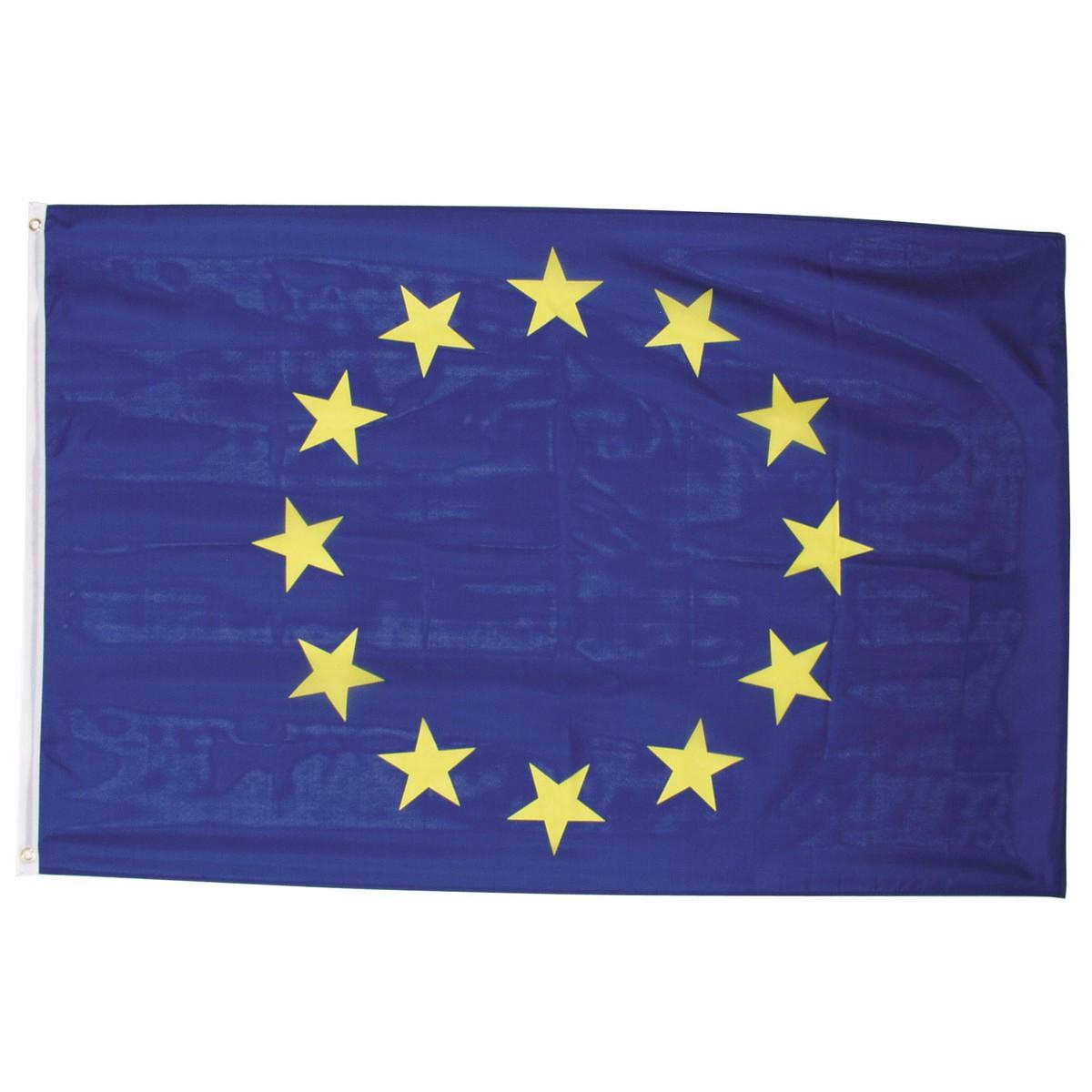 EU vlajka 150x90cm obojstranná polyester megamix.sk