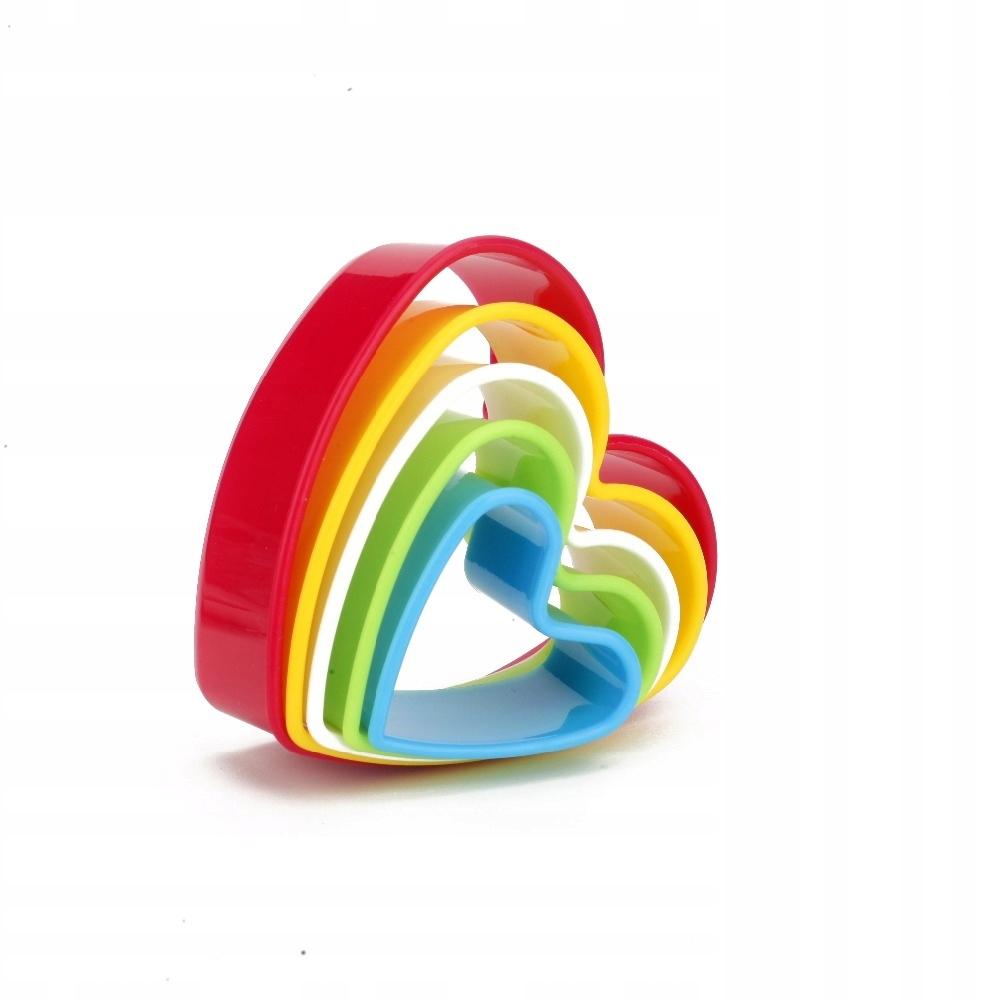 Farebné formy na výrobu cookies 5ks