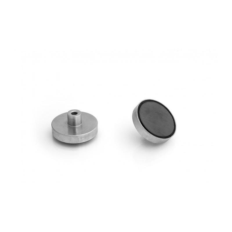 feritový magnetický úchyt UM 40x8xM6 vnútorný x 18 megamix.sk