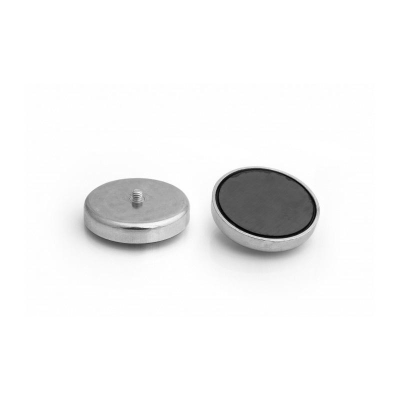 feritový magnetický úchyt UM 57x10,5xM6 vonkajší x 15,5 megamix.sk