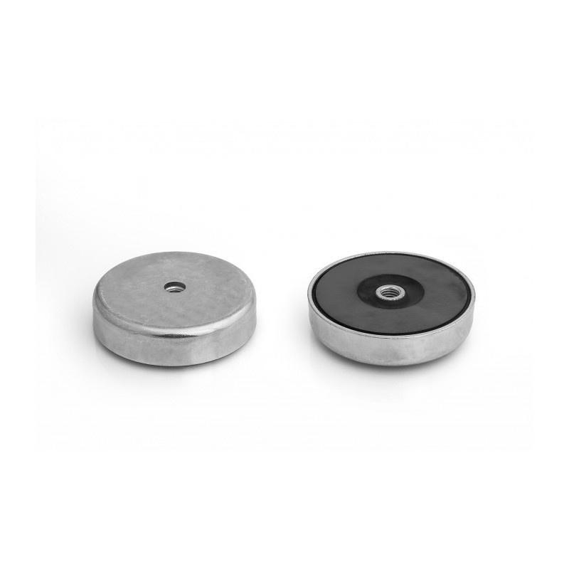 feritový magnetický úchyt UM 80x18xM10 vnútorný megamix.sk
