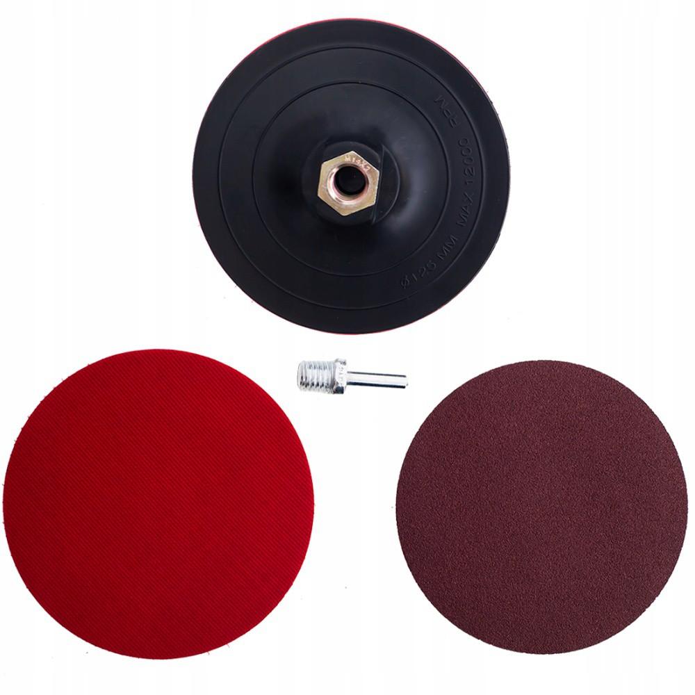 Flexibilný disk 3ks s brúskou VELCRO M14 Ø125mm kotúč megamix.sk