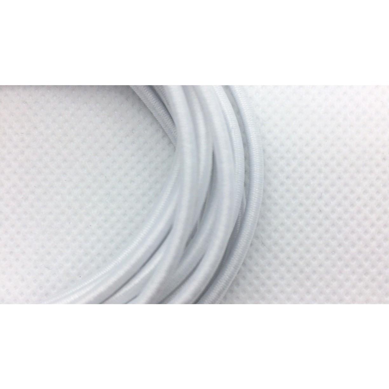 guma guľatá na šitie 3mm 10m biela okrúhla gumička na odev megamix.sk