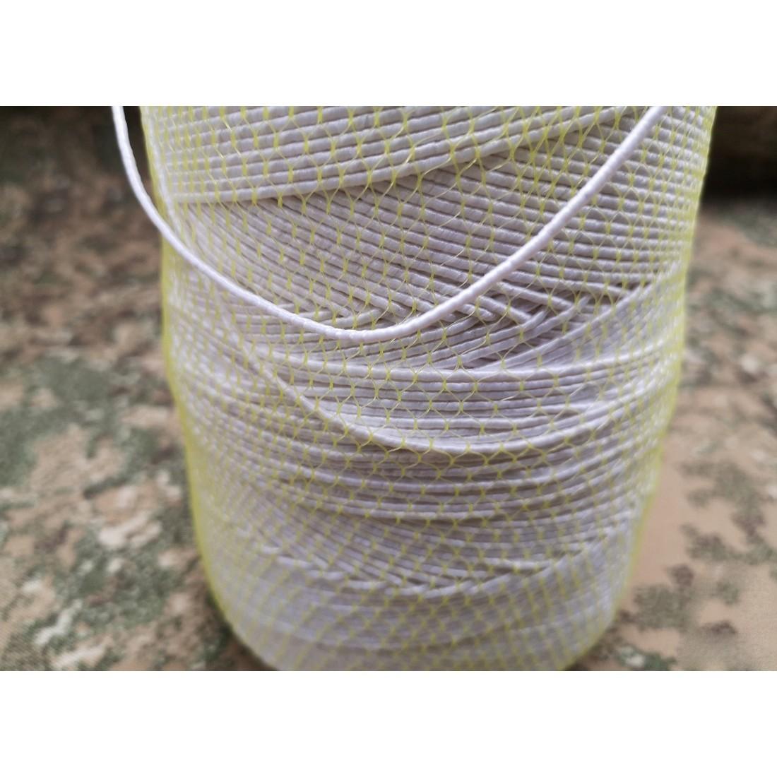 guma guľatá na šitie 2mm 10m biela okrúhla gumička na odev megamix.sk