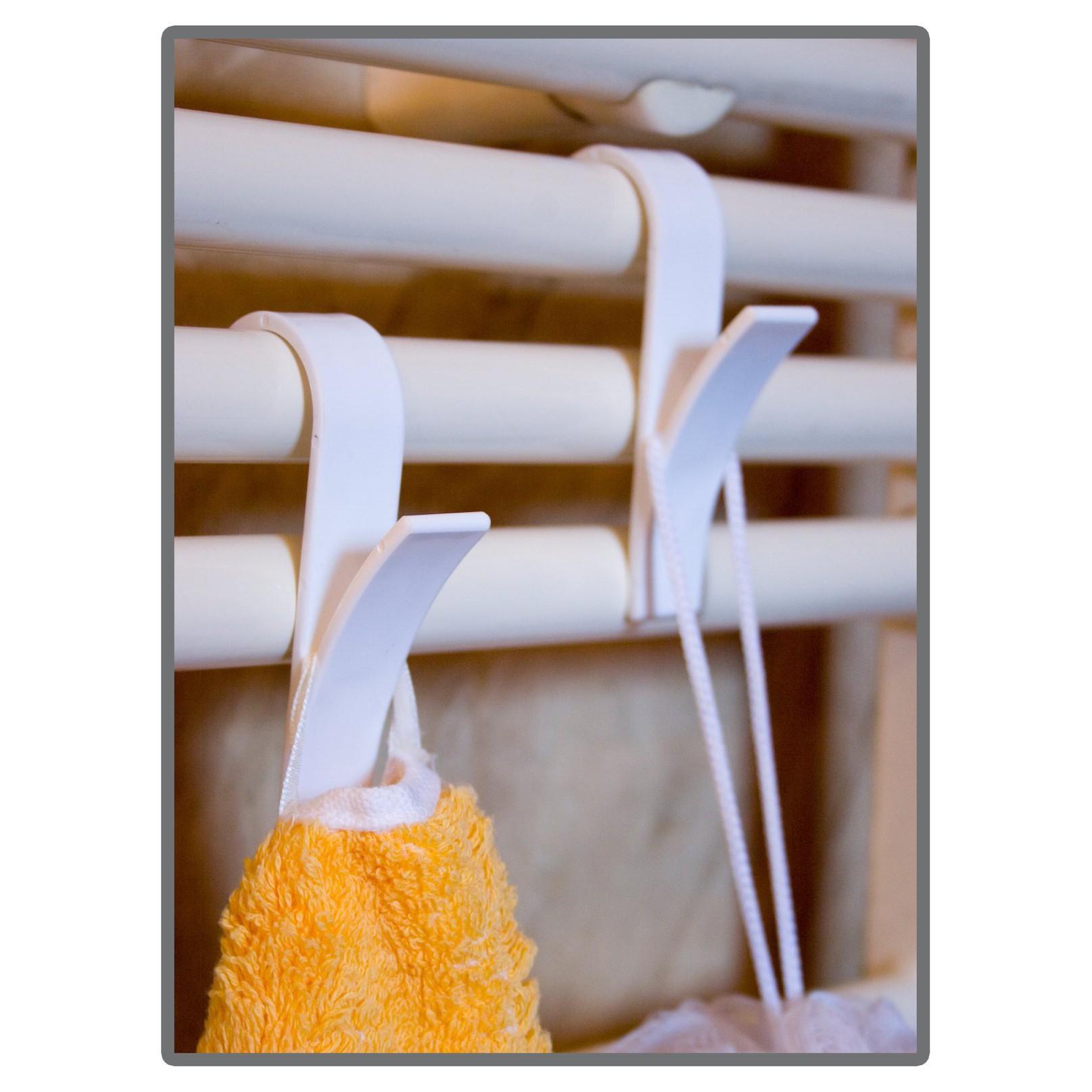 háčiky do kúpelne závesy na radiátor na uteráky 6ks megamix.sk