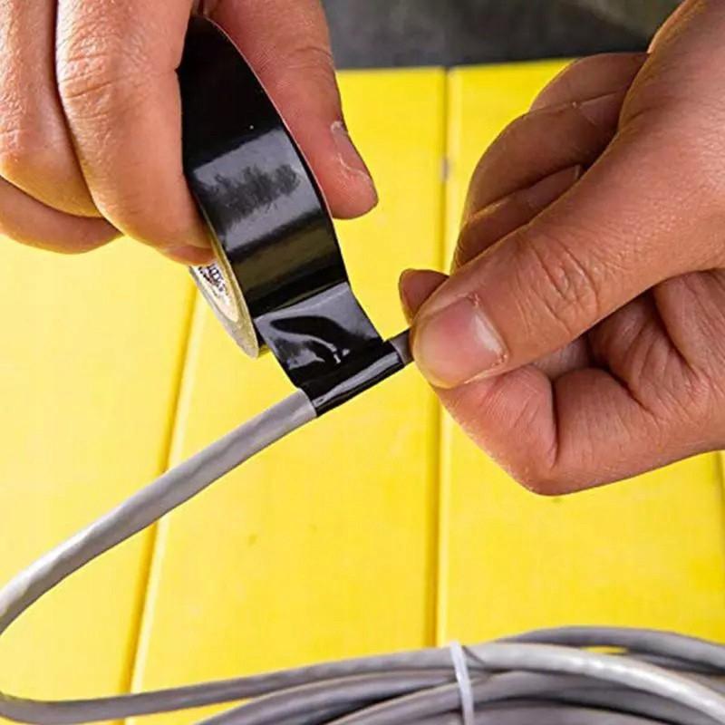 Izolačná páska 10m 10ks vodotesná PVC farebná megamix.sk