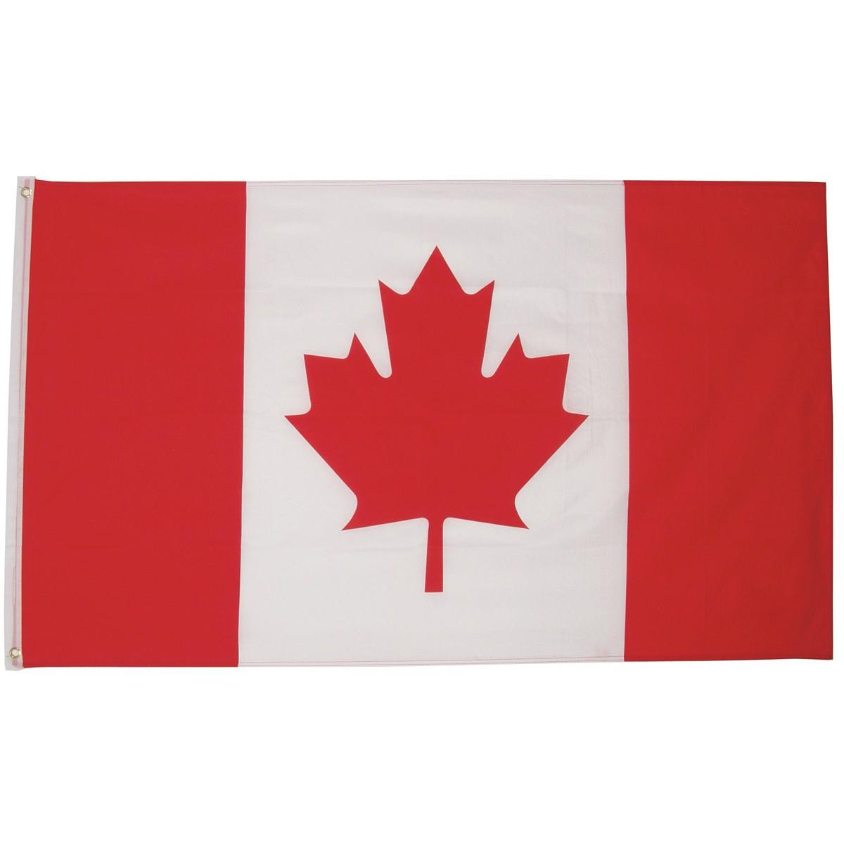 Kanadská vlajka Canada 150x90cm obojstranná polyester megamix.sk