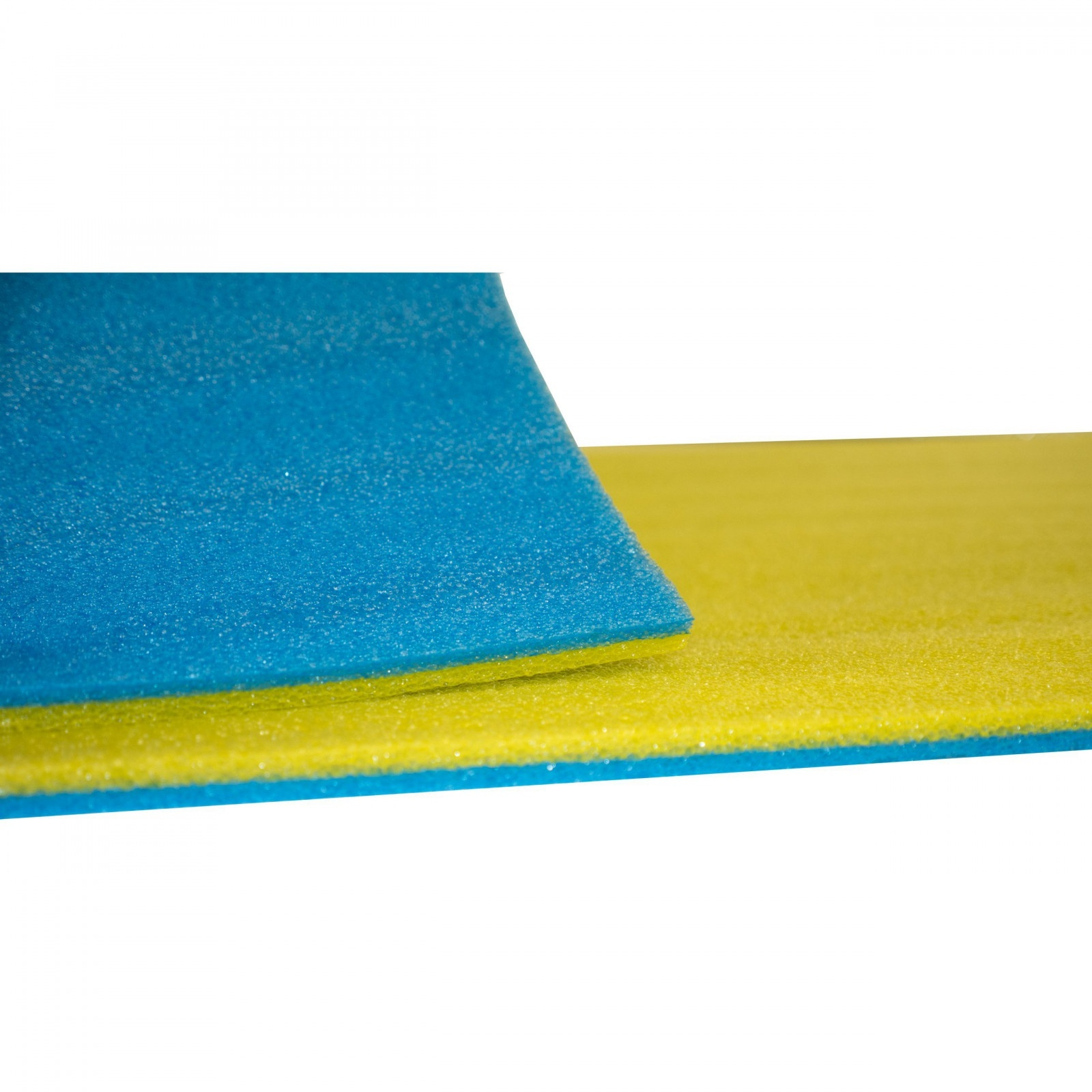 karimatka penová podložka 180x50x1cm zelenomodrá fitness jóga megamix.sk