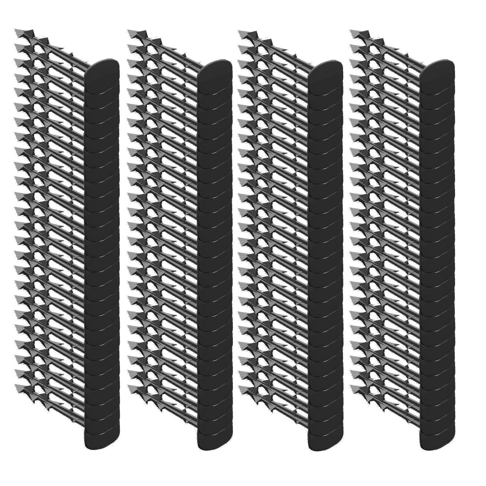 kolíky na agrotkaninu 100ks 12,5cm čierne megamix.sk