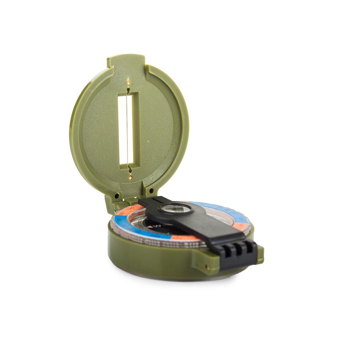 Kompas so zväčšovacím sklom 6x5x2cm megamix.sk