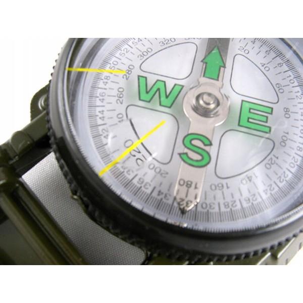 Kompas so zväčšovacím sklom 7x5x2cm buzola megamix.sk