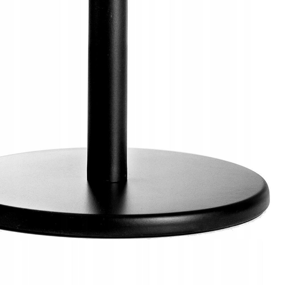 Kovový čierny stojan na papierové utierky 33cm megamix.sk