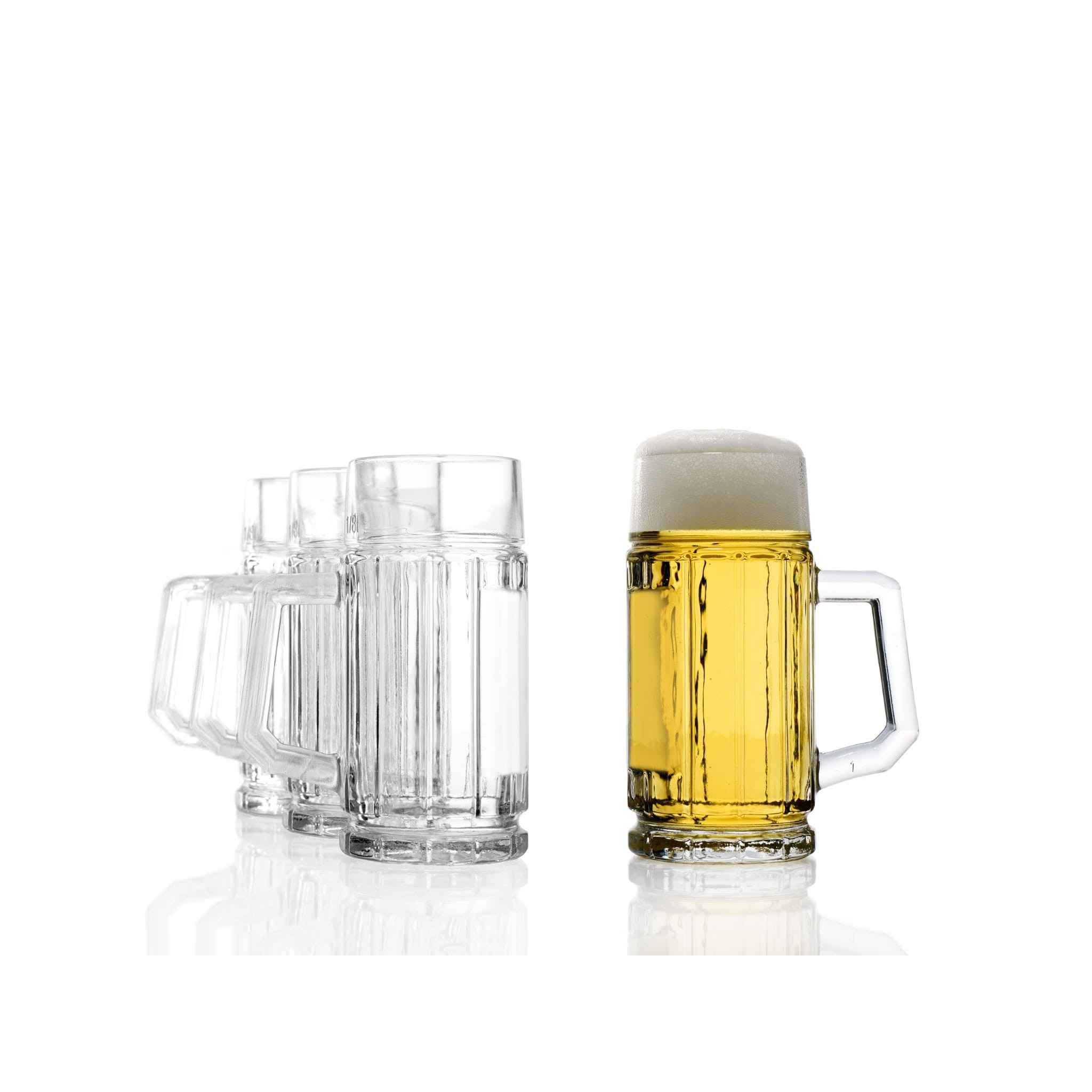 krčah na pivo 125ml Gambrinus sklenený krígeľ pohár megamix.sk