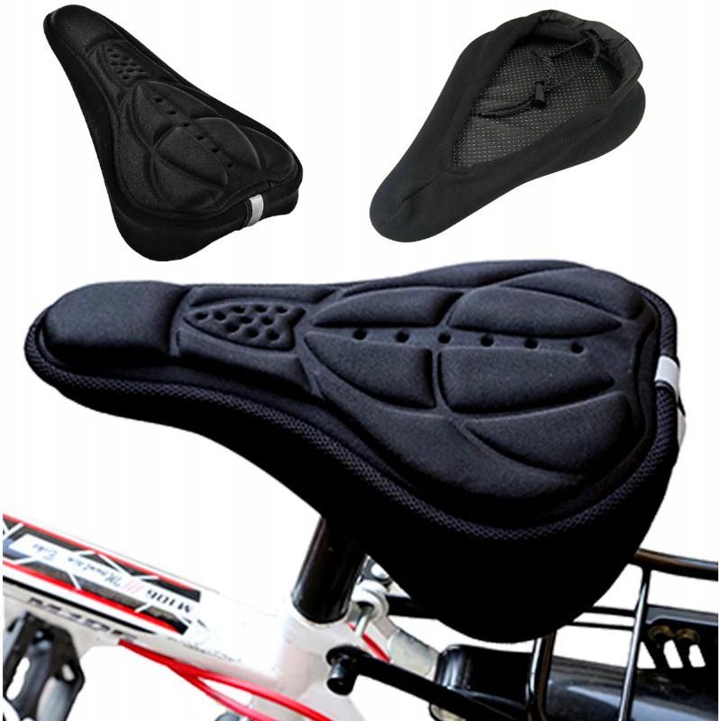 Kryt na sedadlo bicykla gélový 280x175mm čierny megamix.sk