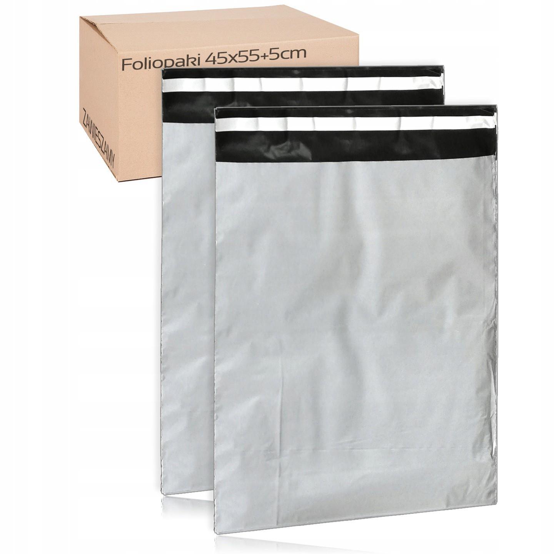 Kuriérske poštové fóliové obálky 50ks 4XL 45x55cm megamix