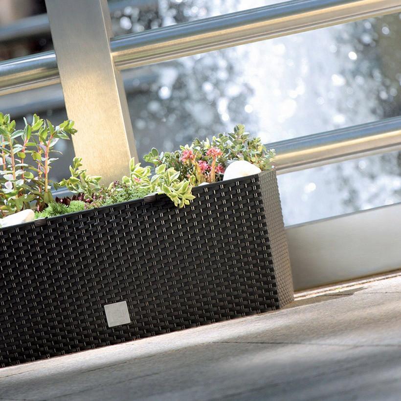 kvetináč 50x18x19cm 17L balkónový záhradný megamix.sk