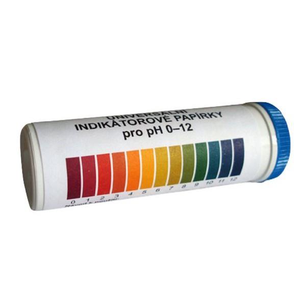 Lakmusové papieriky na meranie pH 1-12 100ks megamix.sk