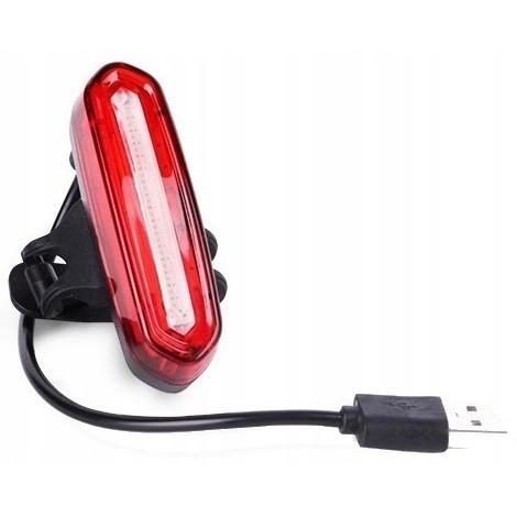 LED lampa na bicykel na USB 1500mAh 500lm megamix.sk