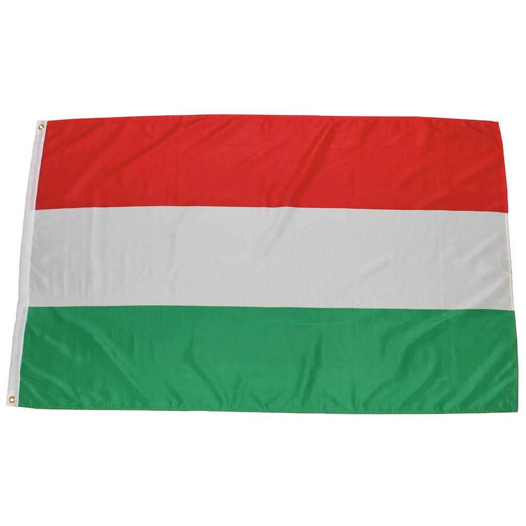 Maďarská vlajka Hungaria 150x90cm obojstranná polyester megamix.sk