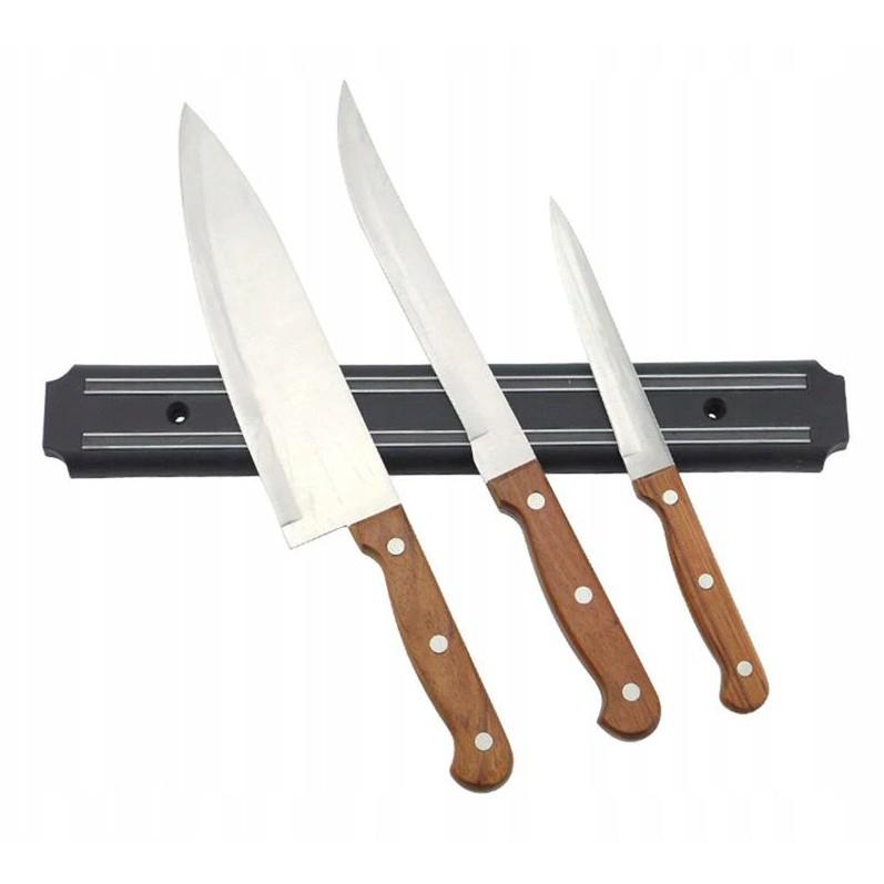 magnetický pás na ukladanie nožov 33x4x1cm megamix.sk