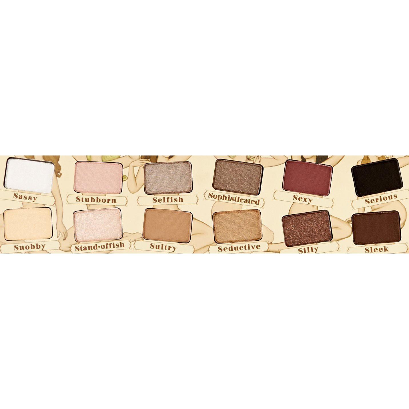 Makeup paleta NUDE TUDE 12 tieňov megamix.sk