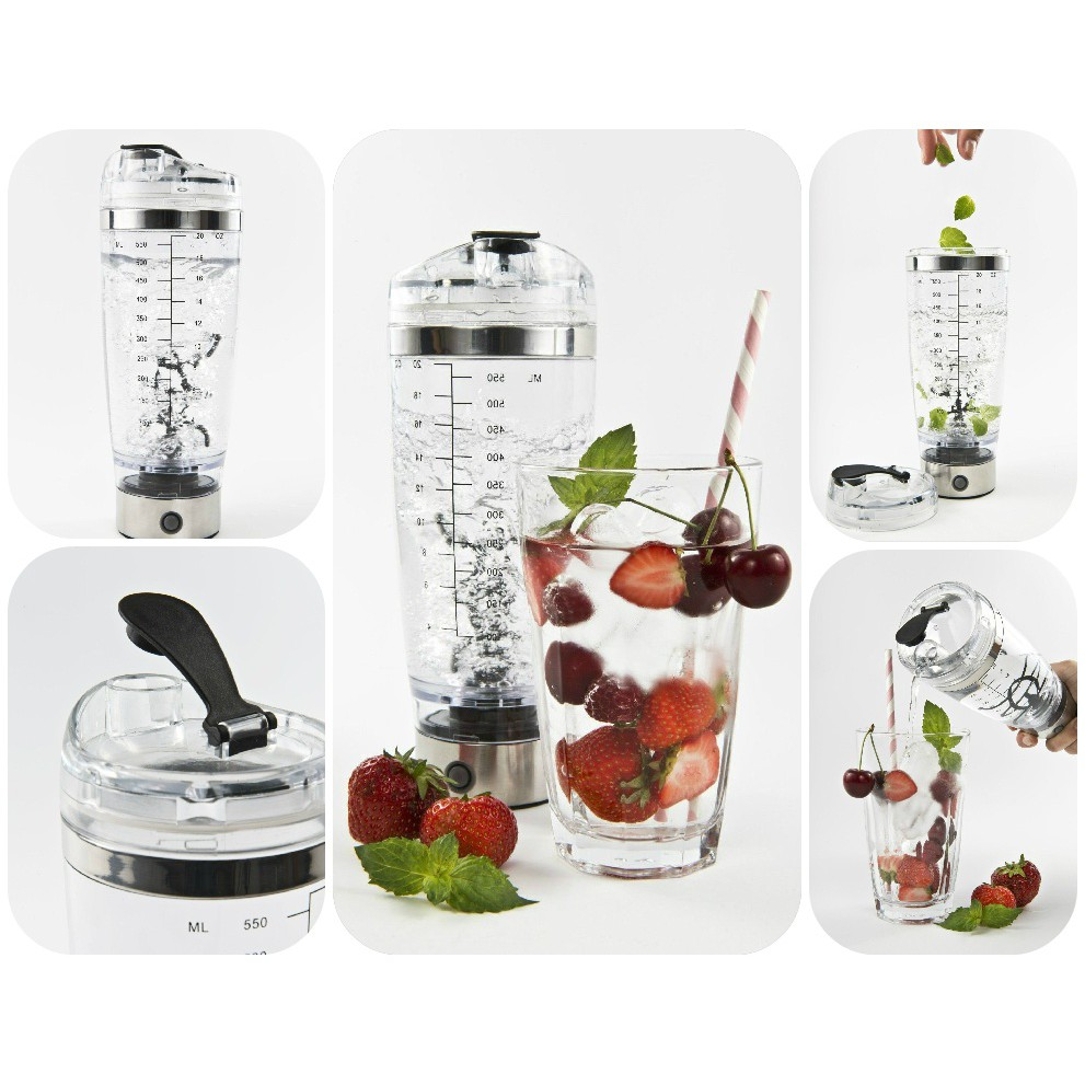 Mixér shaker 650ml na nápoje, tekutiny, džúsy, jogurty megamix.sk